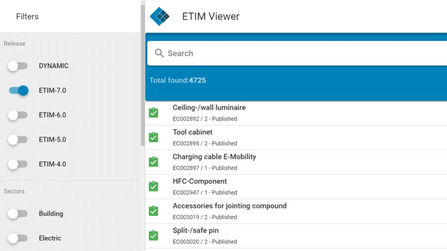 ETIM In Your Pocket renamed to ETIM Viewer